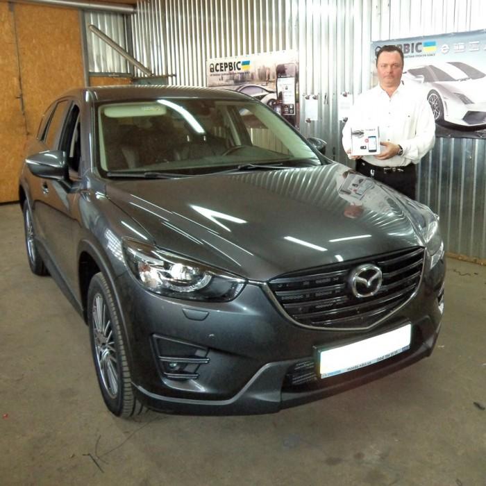 Встановлення автосигналізації на Mazda