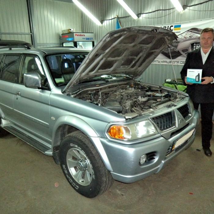 Встановлення автосигналізації на Mitsubishi