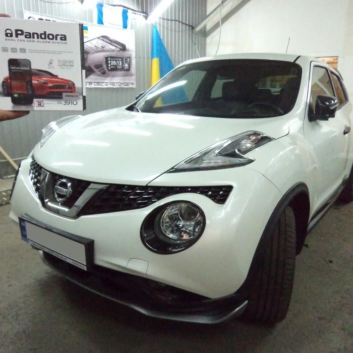 Установка сигнализации на Nissan