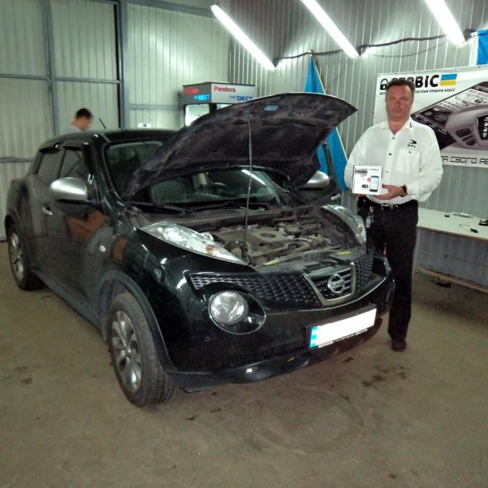 Встановлення автосигналізації на Nissan