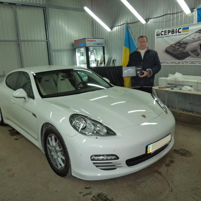 Встановлення автосигналізації на Porsche