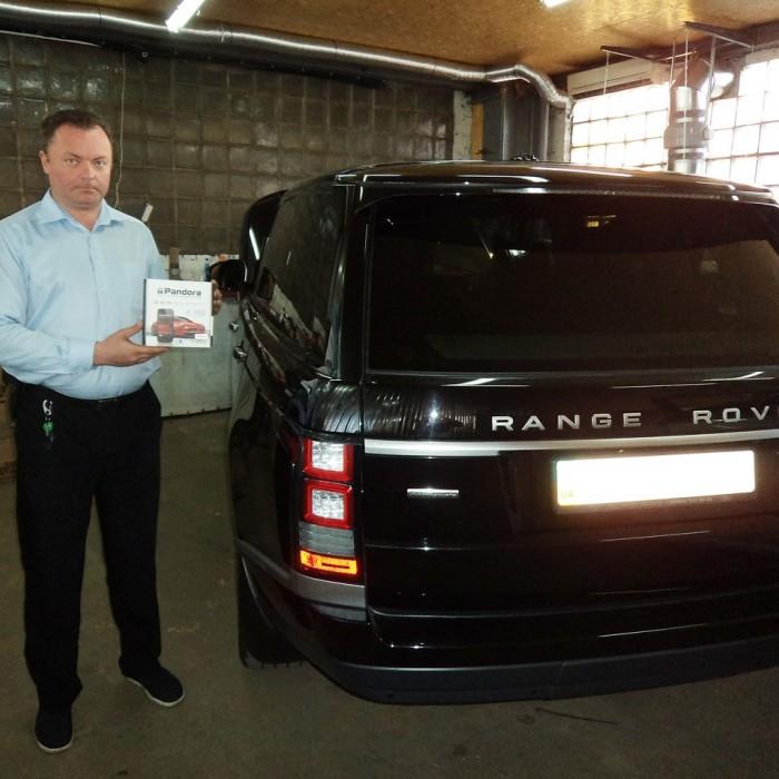 Встановлення автосигналізації на Range Rover