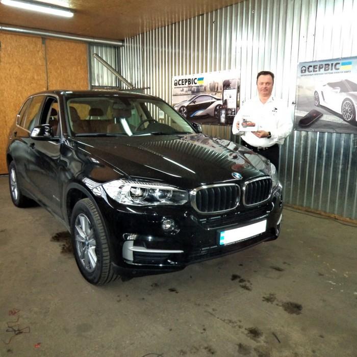Встановлення автосигналізації на BMW