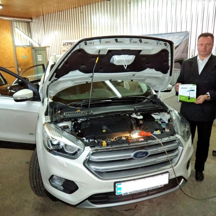 Встановлення автосигналізації на Ford