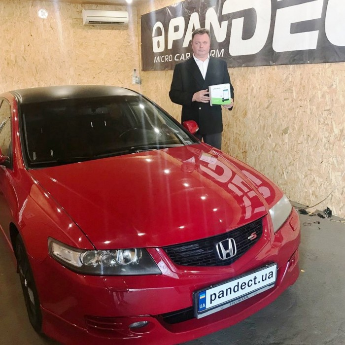 Встановлення автосигналізації на Honda